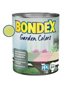 BONDEX GARDEN COLORS - bel- és kültéri festék - citromfű 0,75l