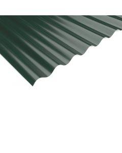 THYSSENKRUPP - PVC hullámlemez (1,1x900x2000mm, zöld)