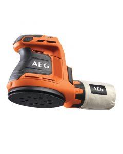 AEG BEX18-125-0 - akkus excentercsiszoló (18V, akku nélkül)