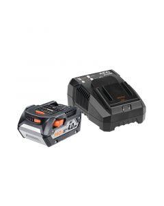 AEG SETL1840AL - akkumulátor és töltő (18V, 4Ah)