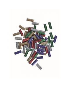 BOSCH GLUEY - ragasztórúd (70db, csillogó, színes)