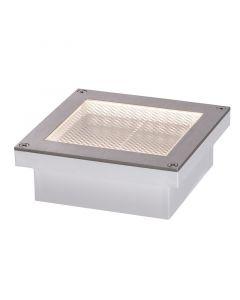 PAULMANN ARON - szolár padlólámpa mozgásérzékelővel (LED, fehér, 10x10cm)