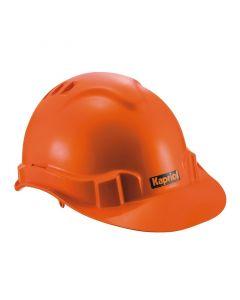 KAPRIOL - védősisak (szövetbéléssel, narancs)