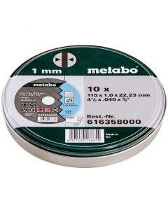 METABO TF 41 - inox vágótárcsa (115x1mm, 10db)