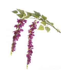 Selyemvirág (akácág, lila, 72cm)