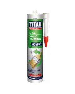 TYTAN TURBO - akril festhető tömítő (fehér, 280ml)