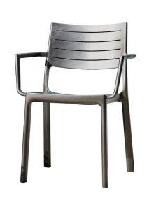 KETER METALINE - kerti szék (fémhatású)