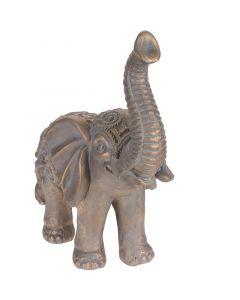 Dekorfigura (elefánt, 25x45x52cm)