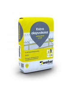 WEBERKPS PROFI - extra alapvakolat (40kg)