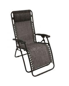 Kerti szék (antracit, relaxációs)