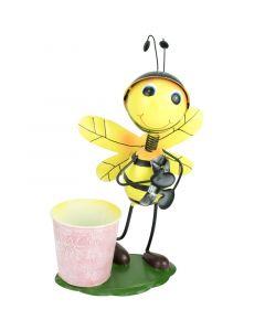Virágtartó (méhecske kaspóval)