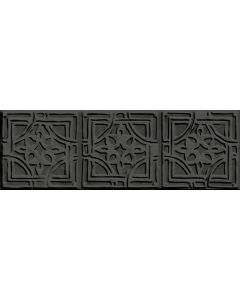 EGE TILE MIRANDELA - falicsempe (antracit, 10x30cm, 0,45m2)