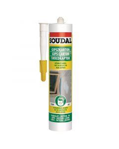 SOUDAL - könnyű akril gipszkartonhoz (fehér, 280ml)
