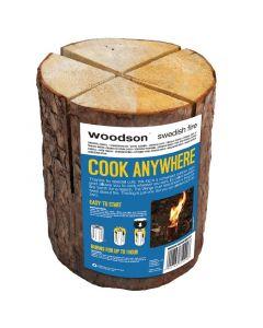 WOODSON SWEDISH FIRE - fagyújtós