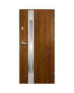 ARIADNA - fém bejárati ajtó (100x207, jobbos, aranytölgy)
