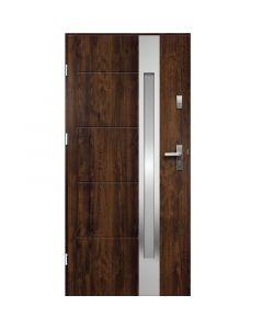 ARIADNA - fém bejárati ajtó (100x207, balos, dió)