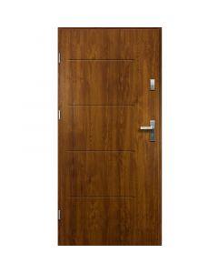 TYTAN - fém bejárati ajtó (100x207, balos, aranytölgy)