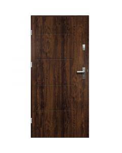 TYTAN - fém bejárati ajtó (100x207, balos, dió)