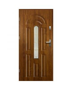 WENUS - fém bejárati ajtó (100x207, balos, aranytölgy)