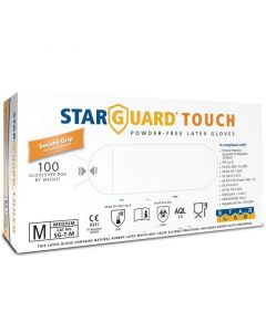 STARGUARD TOUCH - latex kesztyű (M, 100db)