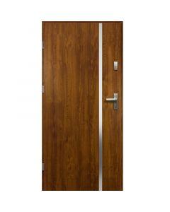 HEBE - fém bejárati ajtó (100x207, balos, aranytölgy)