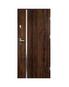 HEBE - fém bejárati ajtó (100x207, jobbos, dió)