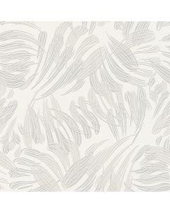 A.S. CREATION FLAVOUR - tapéta (levelek, szürke)