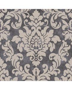 A.S. CREATION TRENDWALLS - tapéta (barokk, taupe-fekete)
