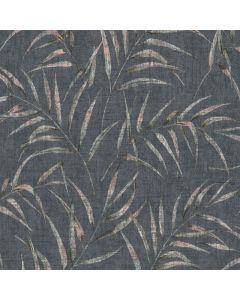 A.S. CREATION GREENERY - tapéta (levelek, zöld-fekete)