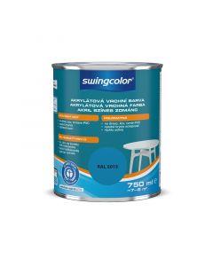 SWINGCOLOR - színes zománcfesték (akril) - égszínkék (selyemfényű) 0,75L
