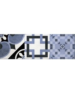 CIFRE HYDRA - dekorcsempe (azul, 20x60cm, 1,44m2)