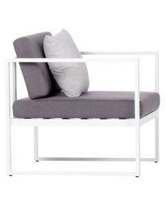 SENSUM SKEPPARHOLMEN - kerti fotel (fehér)
