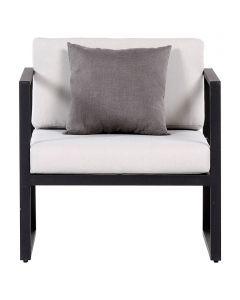 SENSUM SKEPPARHOLMEN - kerti fotel (fekete)