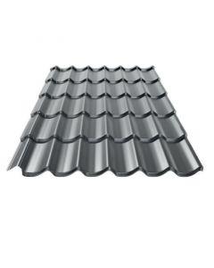 BLACHPROFIL 2 - cserepeslemez (grafitszürke, 118,3x72cm, 0,8281m2)