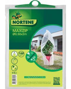 NORTENE MAXI ZIP - átteleltető növénytakaró (Ø0,5x2m, cipzáros)