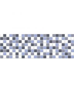 AZULEV SOLID - falicsempe (Quadrate kék, 20x60cm, 1,08m2)