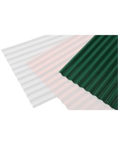 ONDULINE ONDUPLAST COLOR - poliészter hullámlemez (0,9x2m, zöld)