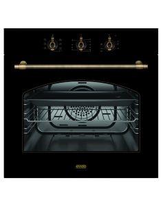 EVIDO RUSTIC-O 60A - beépíthető légkeveréses sütő (antracit)