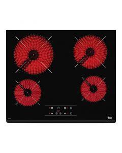 TEKA TZ6419 - beépíthető üvegkerámia főzőlap (fekete)