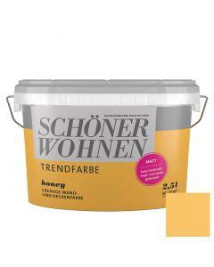 SCHÖNER WOHNEN TREND - beltéri falfesték - honey 2,5L
