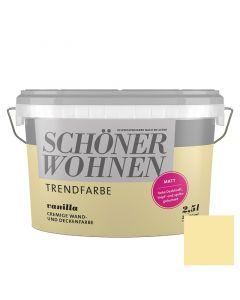 SCHÖNER WOHNEN TREND - beltéri falfesték - vanilla 2,5L