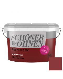 SCHÖNER WOHNEN TREND - beltéri falfesték - amarena 2,5L