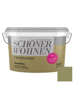 SCHÖNER WOHNEN TREND - beltéri falfesték - bamboo 2,5L