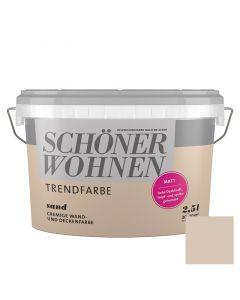 SCHÖNER WOHNEN TREND - beltéri falfesték - sand 2,5L