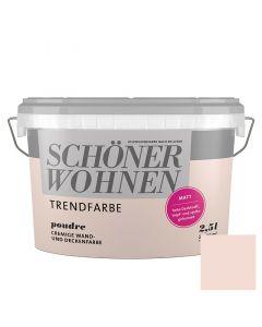 SCHÖNER WOHNEN TREND - beltéri falfesték - poudre 2,5L