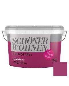 SCHÖNER WOHNEN TREND - beltéri falfesték - orchidee 2,5L