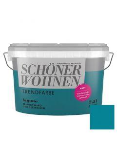 SCHÖNER WOHNEN TREND - beltéri falfesték - lagune 2,5L