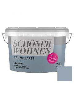 SCHÖNER WOHNEN TREND - beltéri falfesték - denim 2,5L