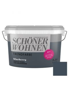 SCHÖNER WOHNEN TREND - beltéri falfesték - blueberry 2,5L