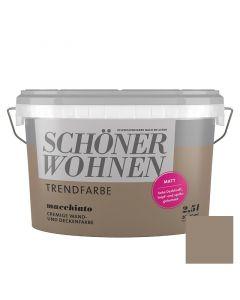 SCHÖNER WOHNEN TREND - beltéri falfesték - macchiato 2,5L